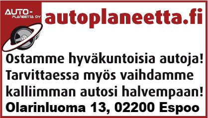 Ostamme käytettyjä autoja